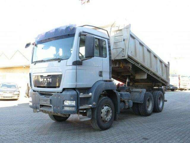 MAN Tg S 26.440 6x4 3 Achs Kipper Meiller, Intarder - 2009