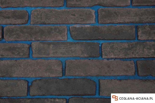 Czarna Stara Cegła Na ściane Płytki Z Cegły Kamień