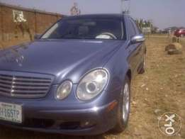 Very solid Mercedes-Benz E320 up for grabs!
