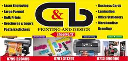 C&b printing and design