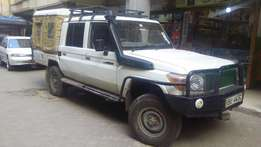 Toyota landcruiser p Up for quick sale