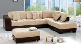 living modern room cream sofa