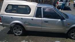 Ford Bantam bakkie for hire with driver