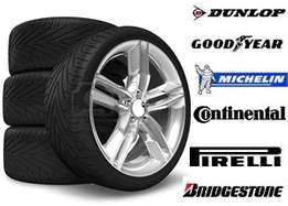 Second hand tyres