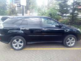 Toyota Harrier With sunroof