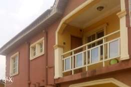 A Suitable 3bedroom appartment is available for rent at Igando.