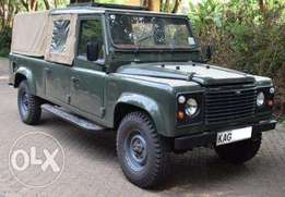 Land Rover D cabin. Converted for Safari, with pop roof