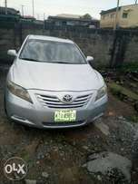 Toyota Camry 2008, leather interior