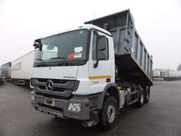 Mercedes Benz Truck Tipper