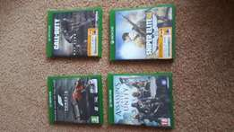 Xbox one games for sale or swap price is negotiable per game