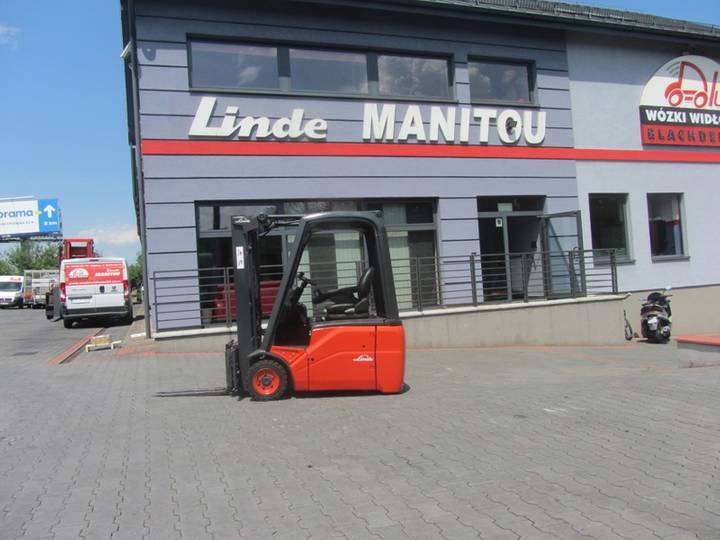 Linde E16C-01 Duplex ,side shift - 2010