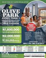 Affordable Estate with Excision at Ayeteju, before Eleko Junction – Ol