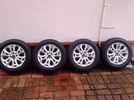 16 Inch Rims and Tyres (Brand New)