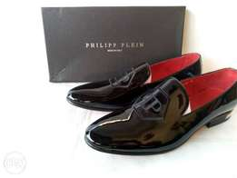 Patent black Philipp plein Loafers
