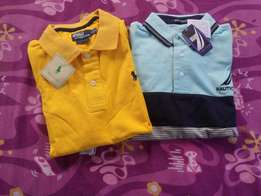Best of Nautica and Polo club ts