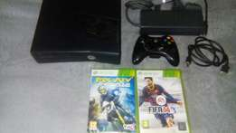Xbox 360 and 2 games