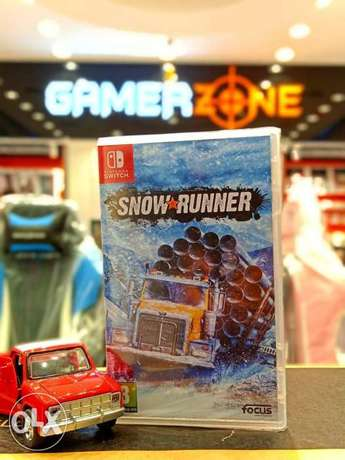 Snow Runner Nintendo switch game Available Now