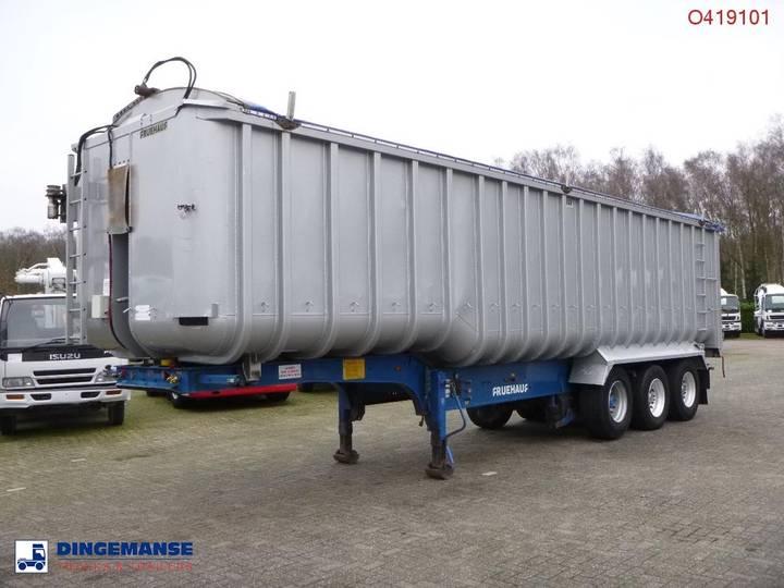 Netam-Fruehauf Tipper trailer alu 53.5 m3 - 2004