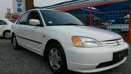 2002 Honda Civic 150i Auto