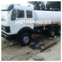 WATER TANKERS: any size we manufacture with full hydraulics systems