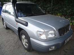 Subaru forester manual 2001 model
