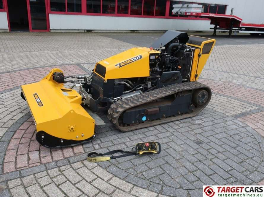 Mcconnel Energreen RoboCut 1300 Remote Tracked Mower 130cm - 2013
