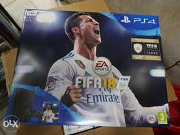 PS4 with Fifa 18 bundle Our shop has all playstion games and xbox