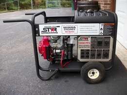 North star proffessional portable generator 10,000kw 165967 ele star