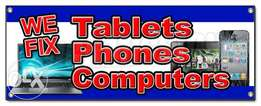 Mobile phone, Tablets and Laptops repair and services