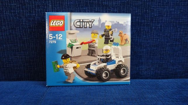 Archiwalne Lego City Napad Na Bankomat Police Minifigure Colletion