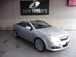 2007 Opel Astra Twintop 2.0 Turbo in Silver