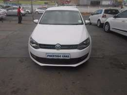 vw polo 6 1.6 hb (c) 2010 white colour