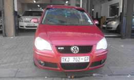Vw polo 1.6 marrone in color 2009 model hatshback 85000km R83000