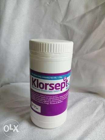 disinfectant tablet