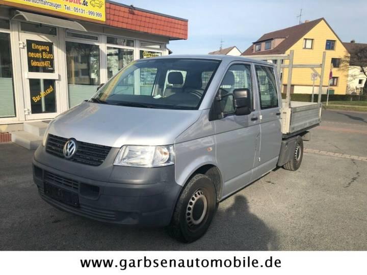Volkswagen T5 1.9 TDI Pritsche Doppelkabine +AHK - 2009