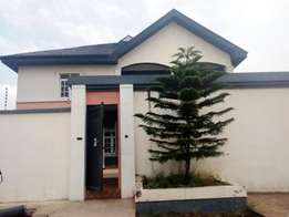 Superb 4 bedroom Duplex pop ceiling with 2 sitting room at Baruwa