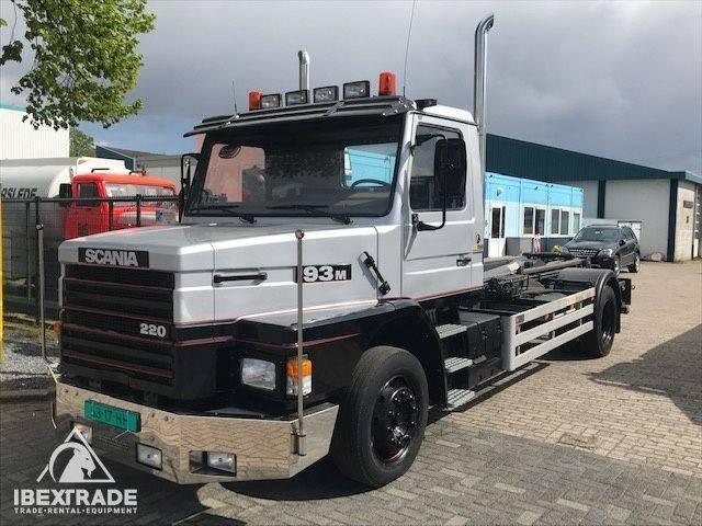 Scania T93 Hauber torpedo - full steel - show truck - nice - 1992