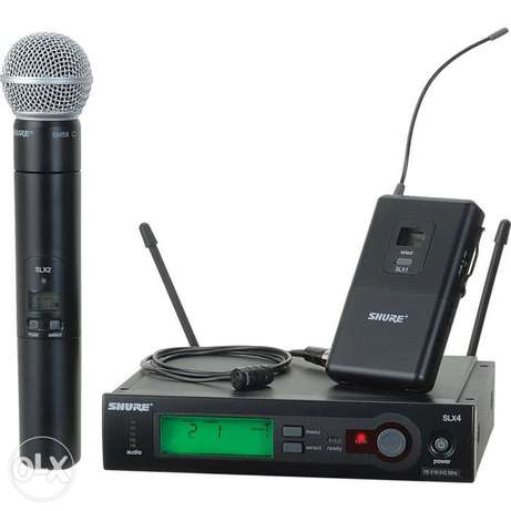 Shure Wireless and wired microphones Lagos - image 3