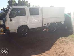 Urgent sale double can Nissan cabstar R70000 onco