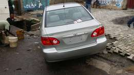 Toyota corolla 2003 model New arrival