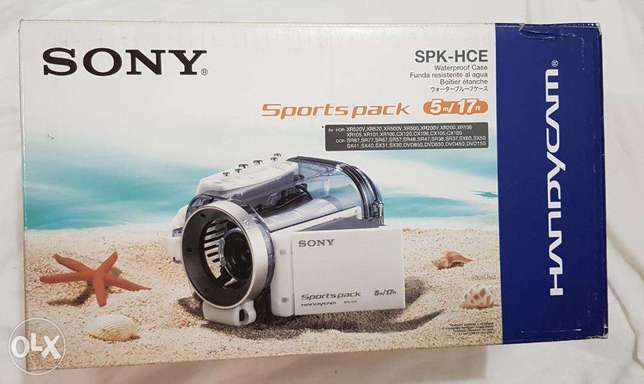 Sony SPK-HCE Sports Pack Waterproof Case for Camcorders