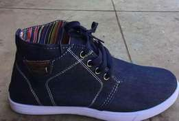 Men's denim shoes