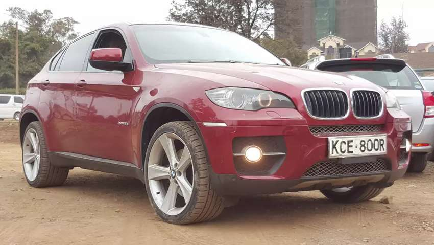 Bmw X6 Red Colour 2008 Model Fully Loaded Excellent Condition Cars
