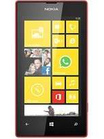 New Nokia Lumia 520 smartphone in a shop