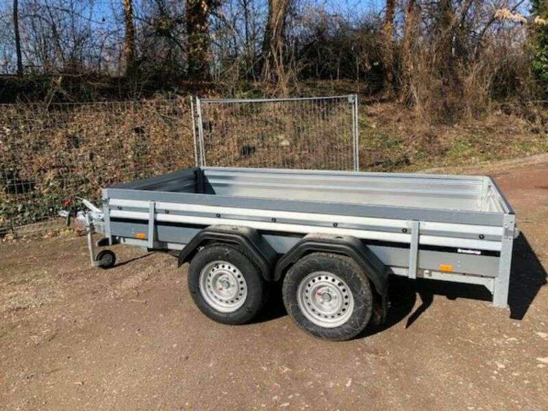Brenderup 2300 S 2.500 Kg Stahl Gebremst Tieflader +sr - 2019