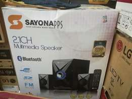 Brand new 2.1ch Sayona Multimedia Speaker