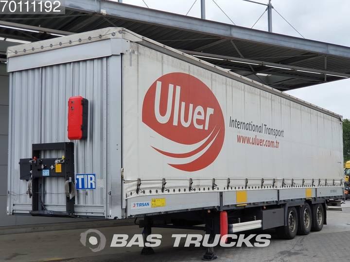 Tirsan Liftachse Hubdach SAF 3 axles - 2016