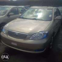 Tincan Clear Tokunbo Toyota Corolla, 2006, Very Okay To Buy From GMI.