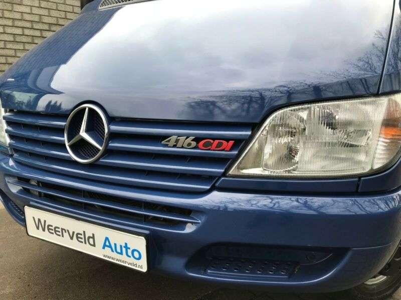 Mercedes-Benz SPRINTER 416 CDI 16-SITZ 2x KLIMA, EXTRA LANG - 2002 - image 15