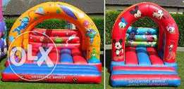 Kiddies play equipments for Hire and for sale